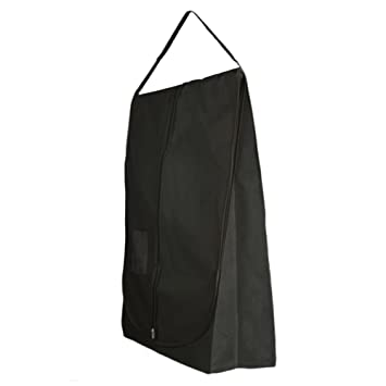 Hangerworld Housse De Protection De Robe De Mariée Noire à Bandoulière 182cm X 66cm