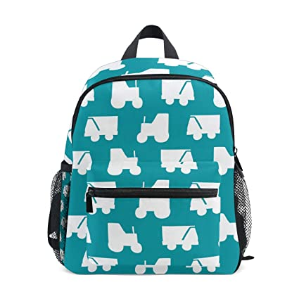 FANTAZIO Mochilas Niños Amor Cars Mochila Escolar Bookbag Daypack