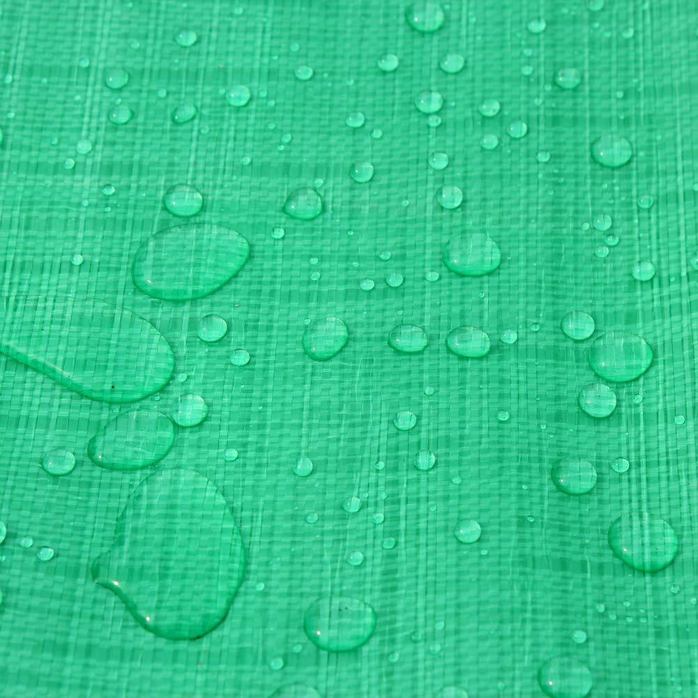 JNYZQ JNYZQ JNYZQ Grüne Wasserdichte Plane Faltbare Sonnencreme Plane Staubdicht LKW Abdeckung Regen Abdeckungen Zelte Camping Sonnenschutz (größe   6m×8m) B07L2TPT5K Zeltplanen Sehr gelobt und vom Publikum der Verbraucher geschätzt fb5d69