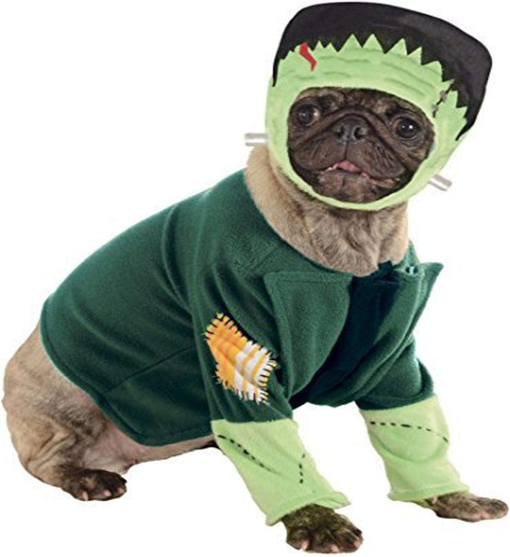 Halloween - Disfraz de Frankenstein para mascota, Talla L perro ...