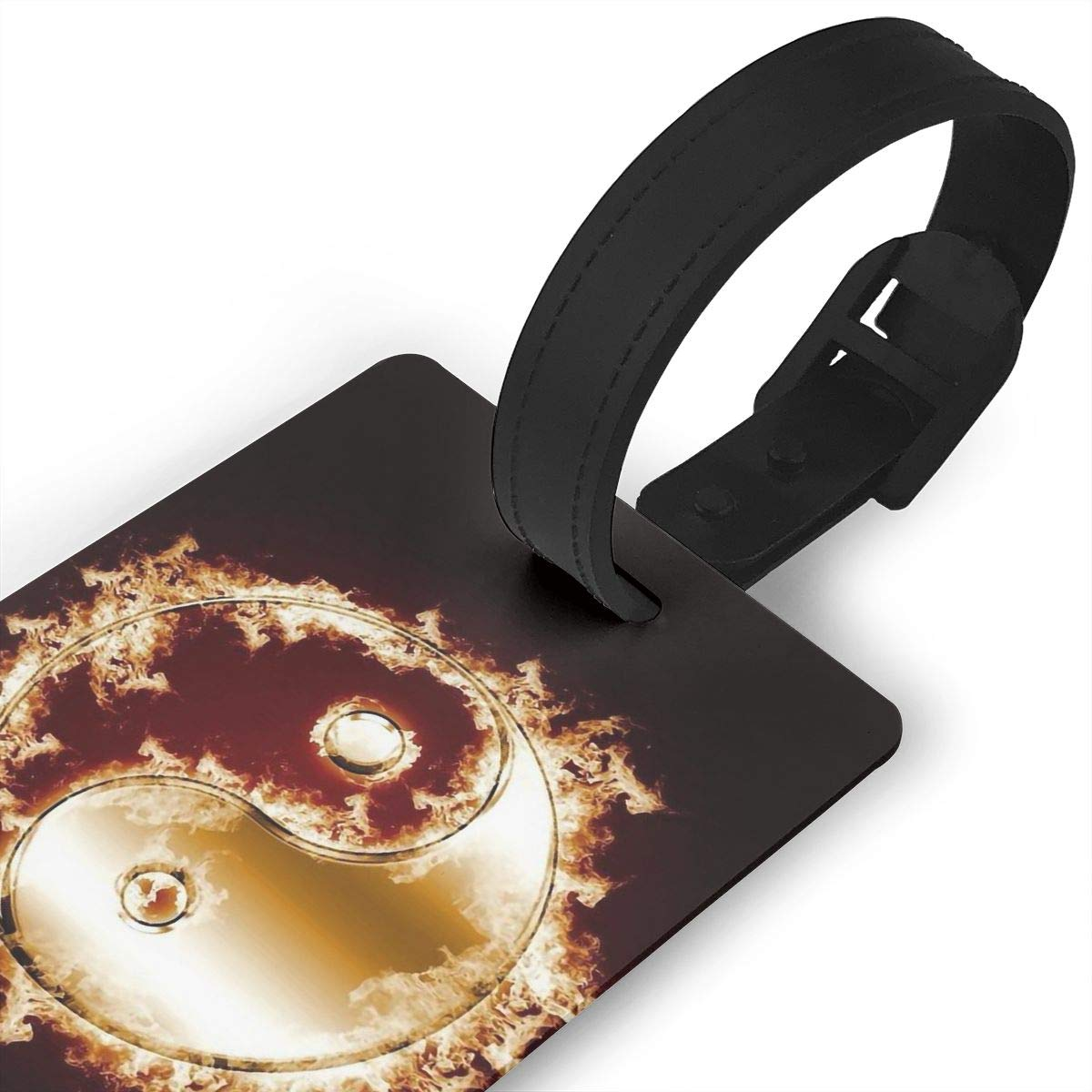Yin Yang Handbag Tag For Suitcase Bag Accessories 2 Pack Luggage Tags