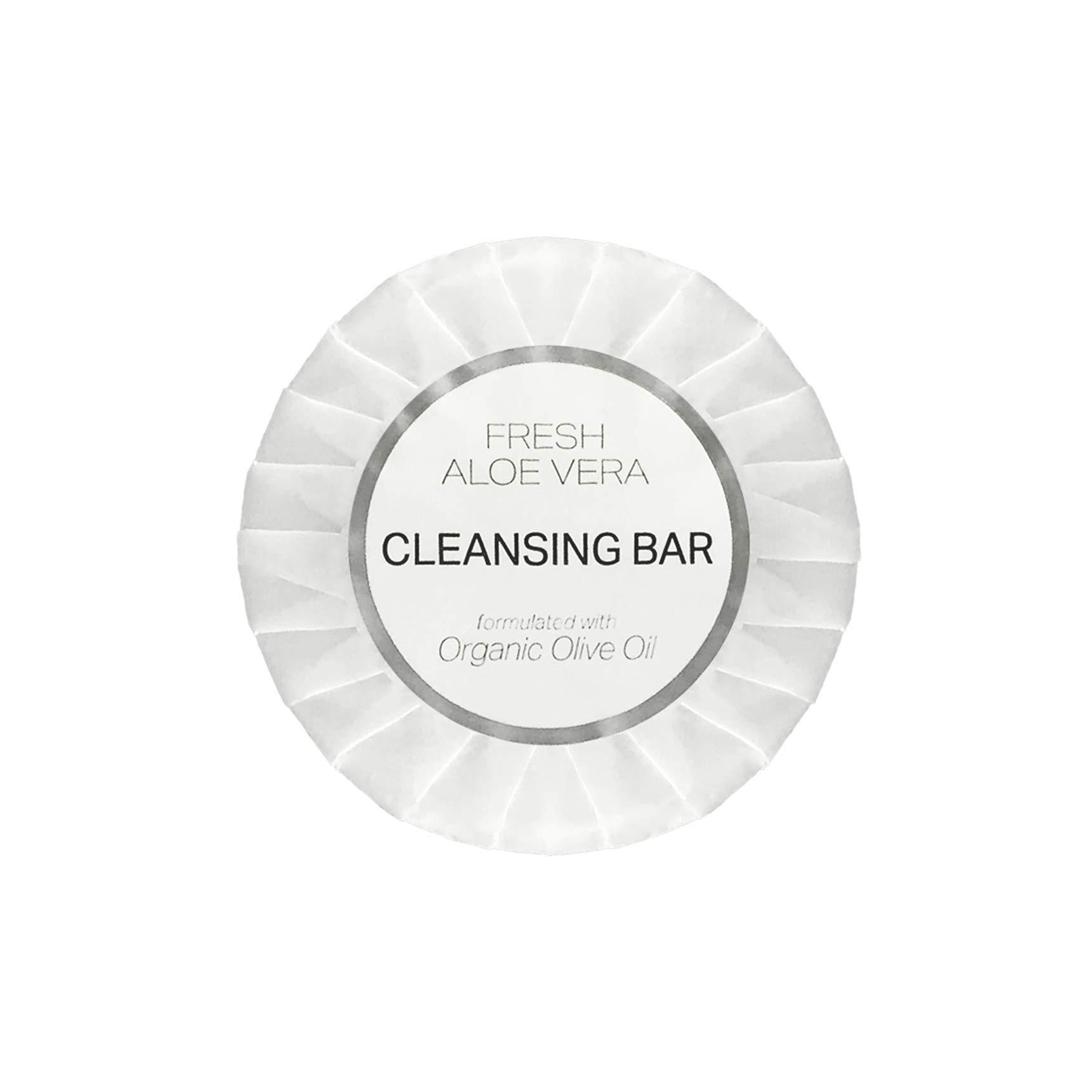 Diversified Hospitality White Aloe Vera Bar Soap, Travel Size Hotel Amenities, 1.25 oz (Case of 288)