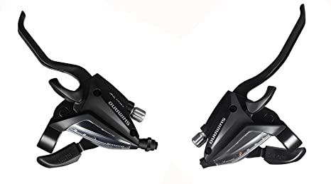 931ab402782 INKE Shimano ST-EF500 3x7 Speed Shifter MTB Bike Brake Lever Combo (1 Pair