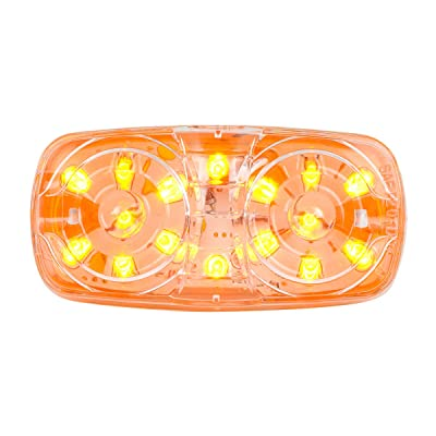 GG Grand General 85242 Amber/Clear Tiger Eye 16-Led Marker Light: Automotive