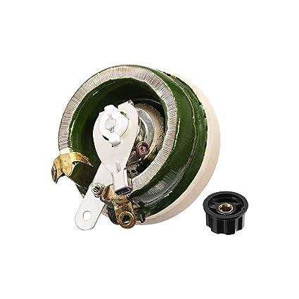 uxcell 1k ohm 100w high power ceramic wirewound potentiometer with