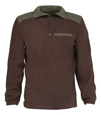 Idaho - Polo Micro Polar, Color marrón, tamaño XXL: Amazon.es ...