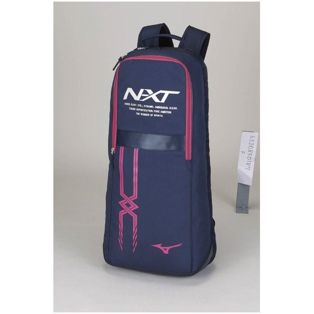 MIZUNO(ミズノ) テニスバッグ ラケットバッグ 2本入れ 63JD8501 B07BX6JTPC 87:ネイビー×ピンク 87:ネイビー×ピンク