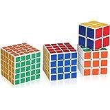 Shengshou 5x5x5, 4x4x4, 3x3x3 und 2x2x2 Würfel Zauberwürfel Cube Set