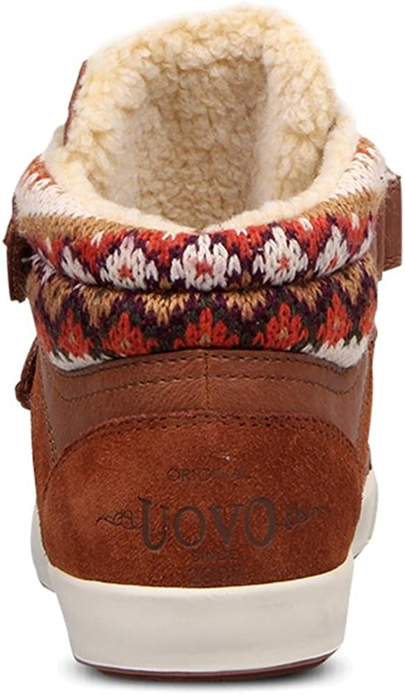 U-MAC Boys Sneakers Knit Sweater Winter Warm Fur Lining Kids Boots Toddler//Little Kid//Big Kid