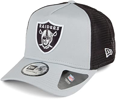 A NEW ERA Gorra Trucker Team Essential Oakland Raiders Gris ...