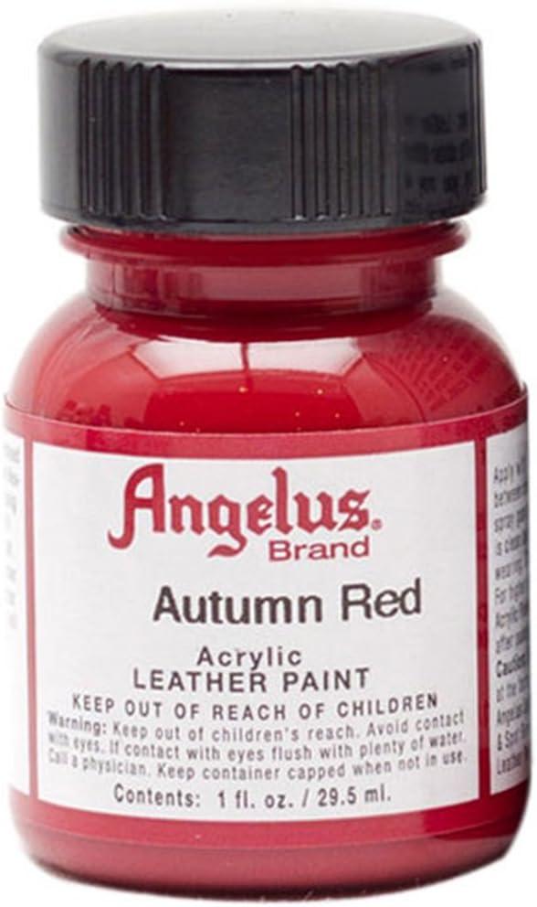 Angelus Autumn Red Acrylic Leather Paint