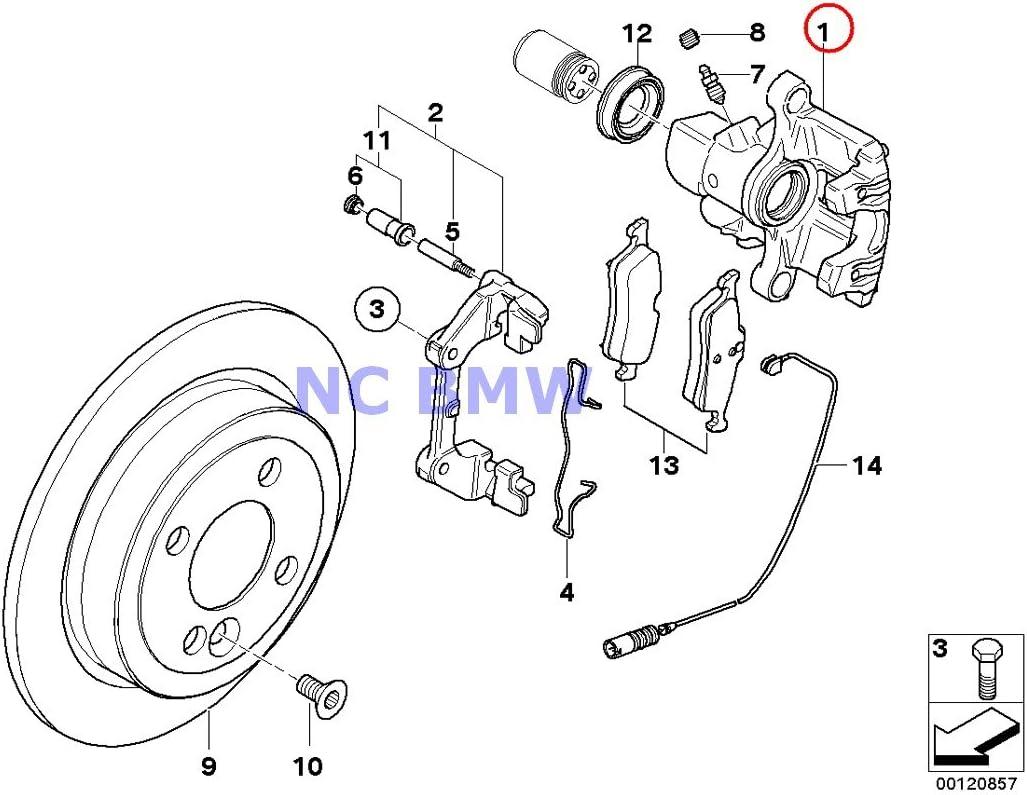 Amazon.com: BMW Mini Brake Caliper Right Cooper S Coop.S JCW GP Cooper S:  AutomotiveAmazon.com