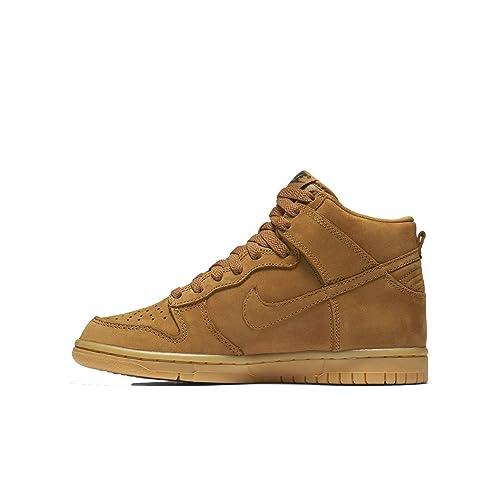 check out ec01b b14ef ... germany nike dunk high premium kids shoe gs 4y flax flax ade1b 15fb2