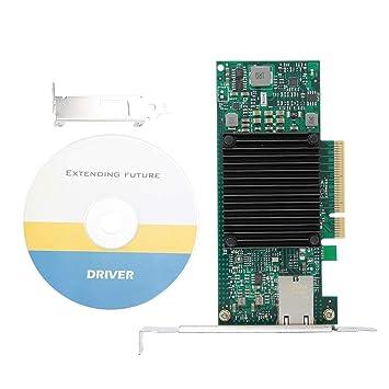 Tosuny Tarjeta de Red, Servidor Ethernet 10 Gigabit PCI-E X8 ...