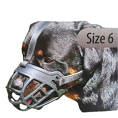 ShineBlue Dog Muzzle for Barking Silica Gel Adjustable by ShineBlue
