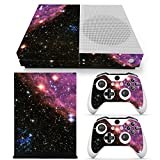 Skinartwork Deep Space Sticker Vinly Decal Cover for Xbox One Slim(XB1 S) Console and 2 Controller Skins