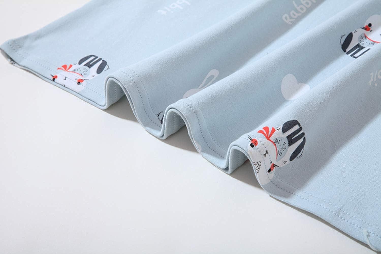 AOSKERA Girls Cute Nighties Cotton Sleepwear lace Nightdress 3-12 Years