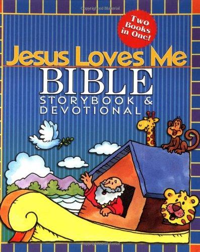 Jesus Loves Me Bible Storybook & Devotional