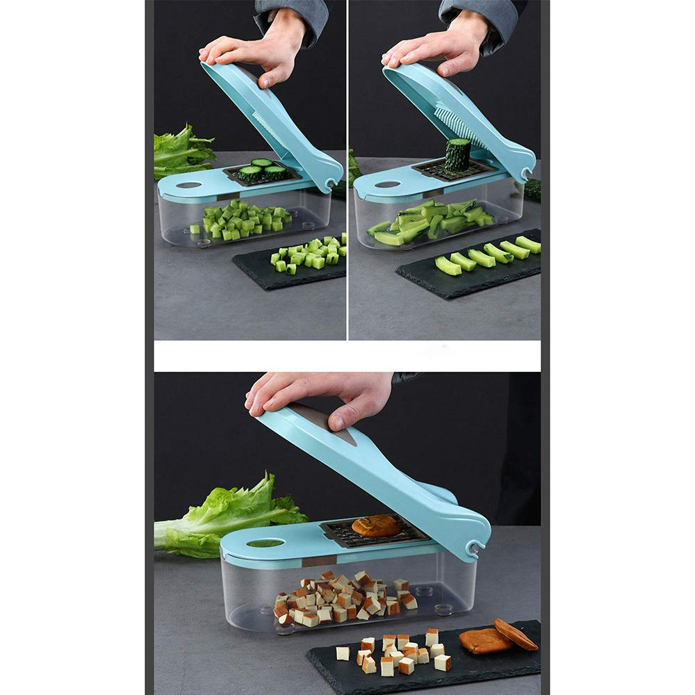 ZUEN Cuchillo De Cocina Manual Cebolla Verdura Máquina para ...