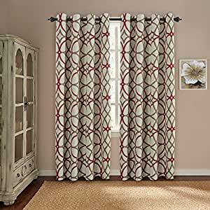 amazon curtains living room h versailtex thermal insulated blackout 11904