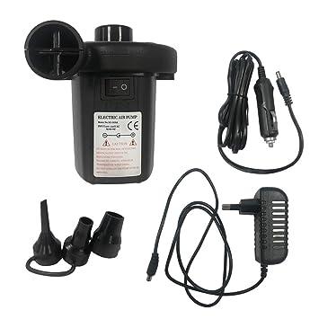 AUFUN - Bomba de Aire eléctrica para colchones de Aire, Piscinas hinchables, Casas,