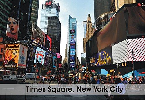 Times Square, New York City, New York, NY, Manhattan, Souvenir, Travel, Locker, Magnet 2 x 3 Fridge ()