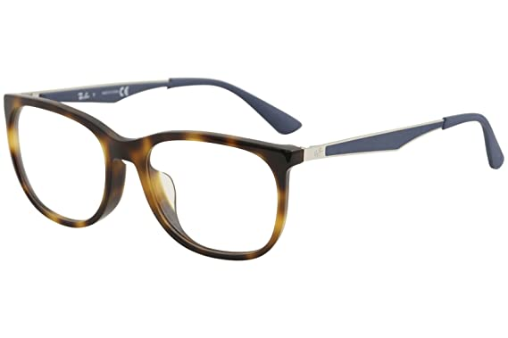 a9186dd3514 Amazon.com  Ray-Ban Men s RX7078F Eyeglasses Shiny Light Havana 53mm ...