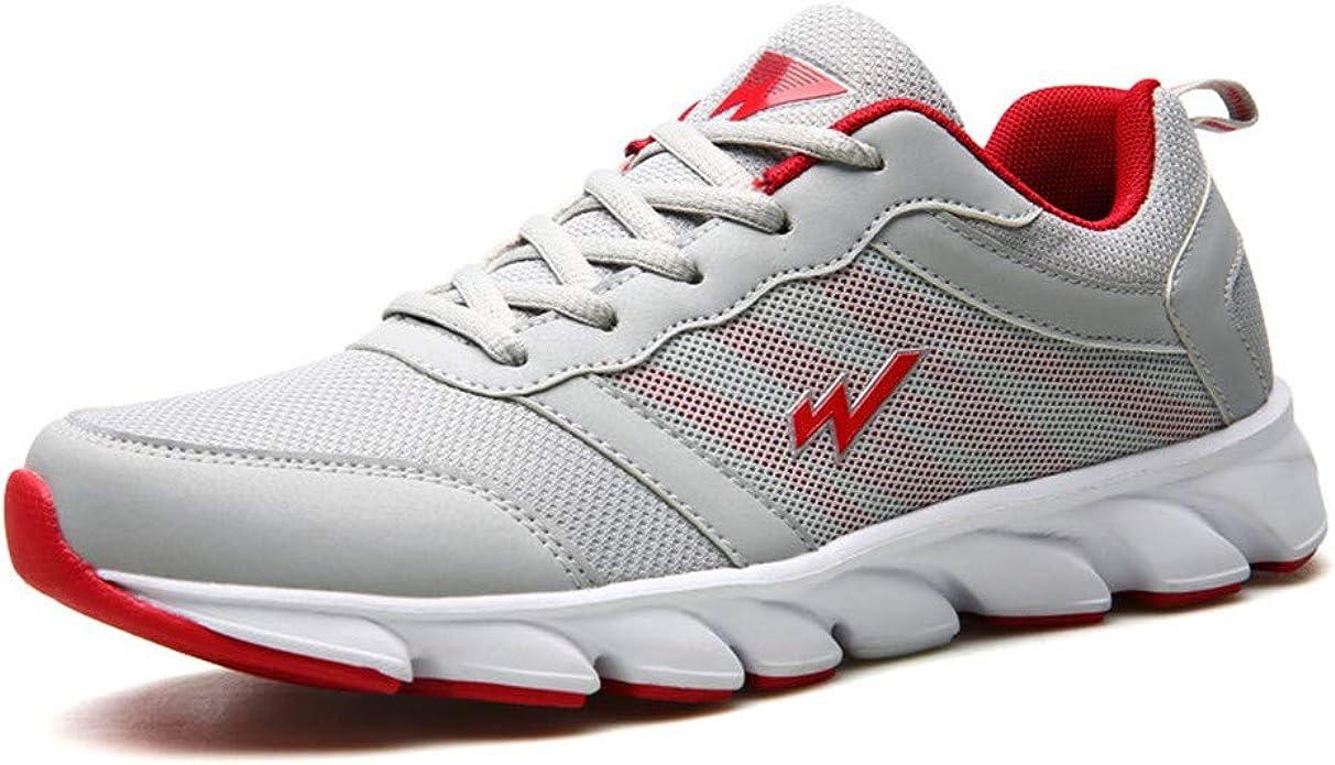 Zapatillas de Deporte para Hombre Zapatillas de Deporte para Correr al Aire Libre Antideslizante para Correr, Transpirable, de Malla Transpirable, Ligeras Zapatillas Deportivas: Amazon.es: Zapatos y complementos
