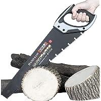 """AIRAJ18 """"Pro Handzaag, Handzaag voor het zagen van hout, Ergonomische rubberen handgreep, Ideaal voor zagen, snoeien…"""