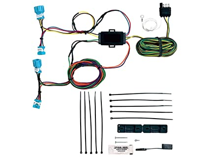 amazon com blue ox bx88281 ez light wiring harness kit for honda cr rh amazon com
