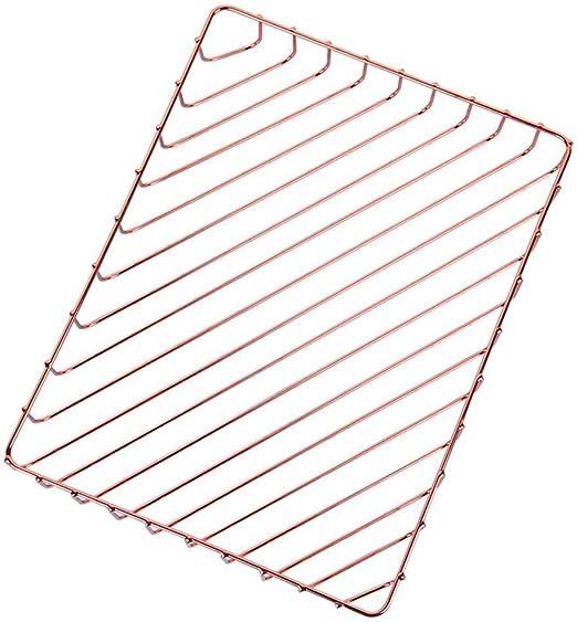 LJFYMX Bandeja Folios Caja de Almacenamiento de la Canasta de ...
