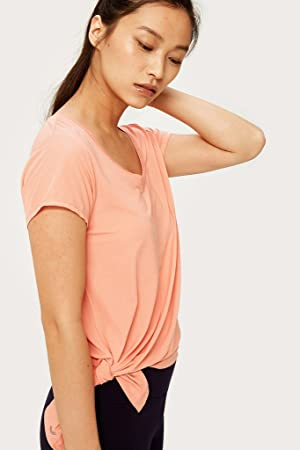 LOLË Jovi - Camiseta Deportiva de Mujer en Color salmón: Amazon.es: Deportes y aire libre