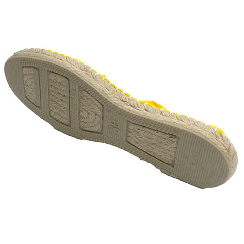 Alpargatas esparto - piatta Made in Spain giallo - esparto 297259