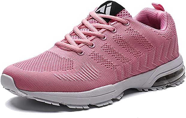 Mens Womens Running Shoes Air Cushion Sneakers Lightweight Athletic Tennis Sport Shoe for Men: Amazon.es: Zapatos y complementos