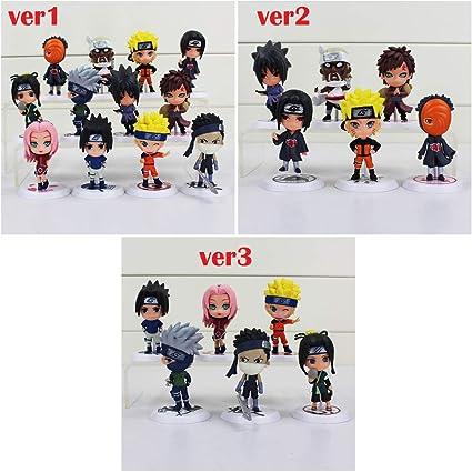Amazon com: LQT Ltd 6pcs/lot 7cm Anime Naruto Figure Toy