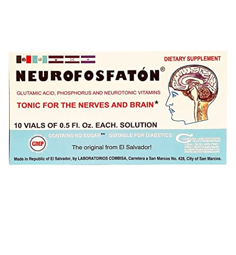 Amazon.com: Neurofosfaton - Tonic for the Nerves and Brain (Vitamina): Health & Personal Care