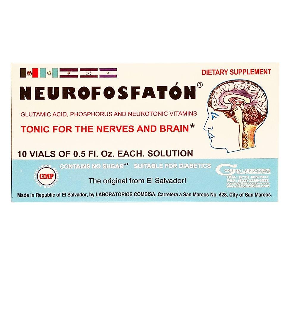 Amazon.com: Neurofosfaton - Tonic for the Nerves and Brain (Vitamina): Health & Personal Care