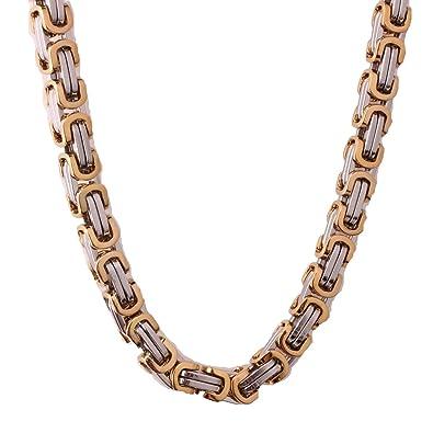 Amazon.com: En Venta Acero Inoxidable Caja Cadena Collar 4/5 ...