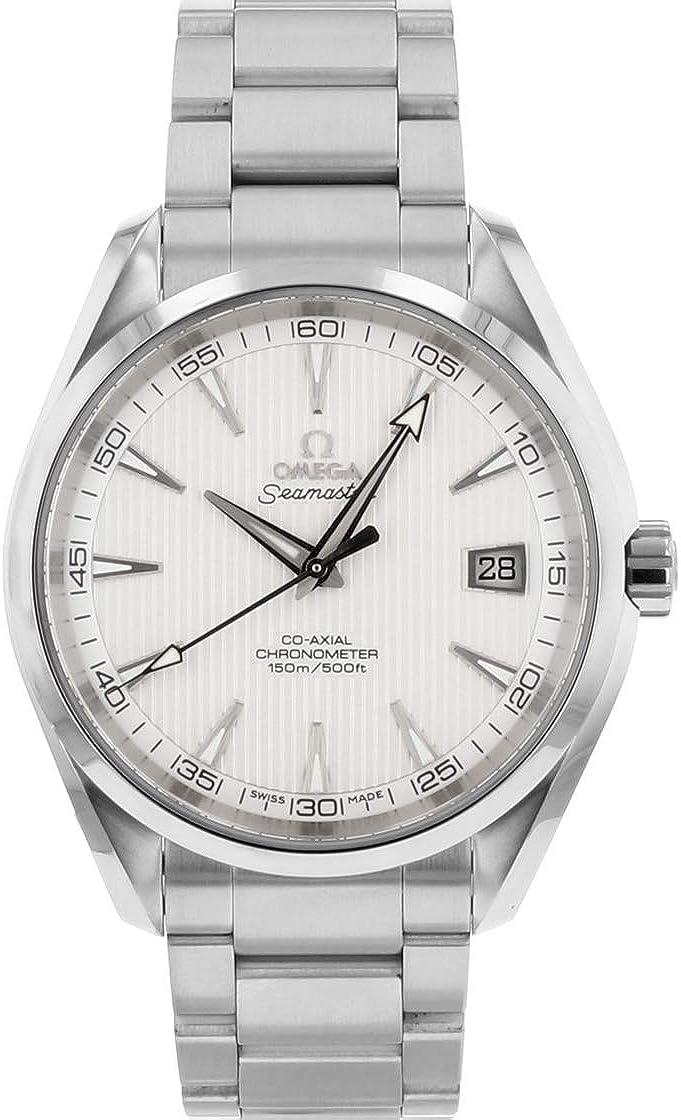 [オメガ]OMEGA 腕時計 231.10.42.21.02.001 シーマスター アクアテラ SSブレス シルバータペストリー[品] [並行輸入品]