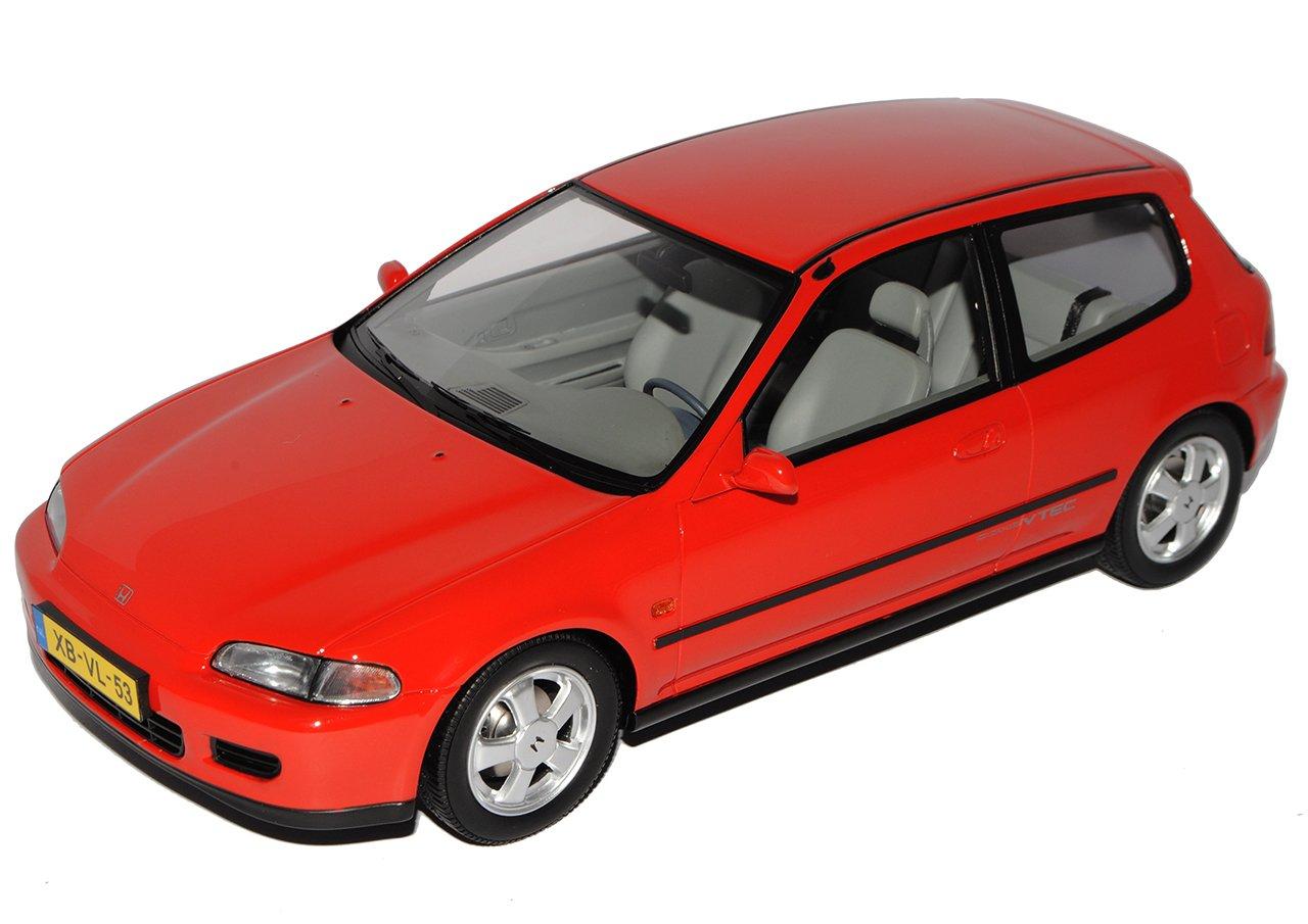 Triple 9 Honda Civic 3 Türer Hatch Rot 5. Generation 300 1991-1995 limitiert 1 von 300 Generation 1/18 Modell Auto 9c1dfa