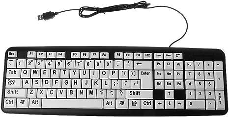 MIKI-Z PC con Cable USB Juego de computadora Teclado para ...