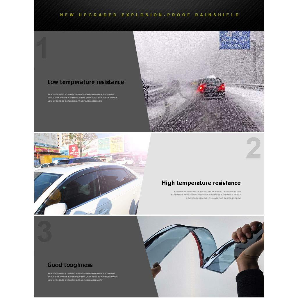 ,2010to2017XC60 YYD Auto Windabweiser Set Hochwertiger Explosionsschutz f/ür Volvo 4 St/ück