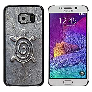 LOVE FOR Samsung Galaxy S6 EDGE Turtle Architecture Design Figurine Stone Personalized Design Custom DIY Case Cover