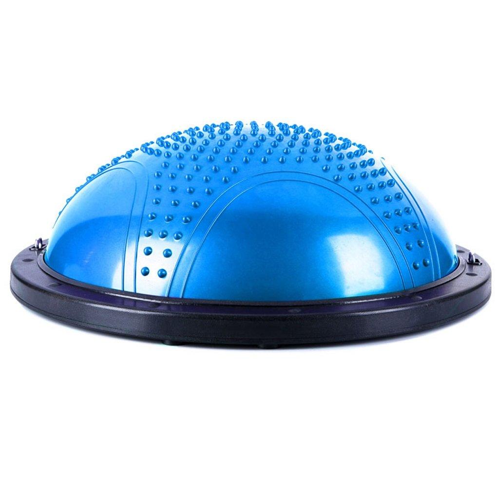 Gbf Yogaball/Fitnessball verdichteter explosionssicherer Yogaball Halbrunder Balanceball Fitness-Yogahemisphäre ausgeglichene Hemisphäre Reha-Training