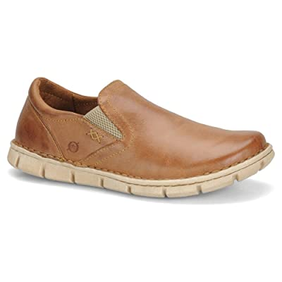 Born Men's Brown Sawyer 12 D(M) US | Loafers & Slip-Ons