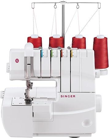 Singer 14T970C Eléctrico - Máquina de Coser (Blanco, Costura, Paso 4, Eléctrico, 105 W, 220-240): Amazon.es: Hogar