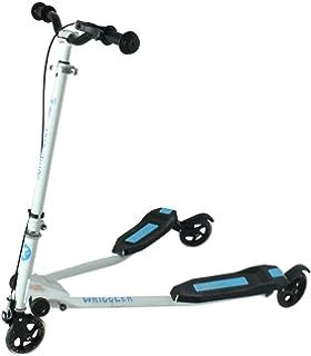 Kidzmotion niño inquieto vagabundo 3 ruedas scooter de oscilación reductor de velocidad…