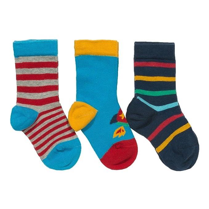 Kiddaroos Baby Socks Cotton Set of 3 Toddler Sock 3-24 Months,for Little Boy /& Girl