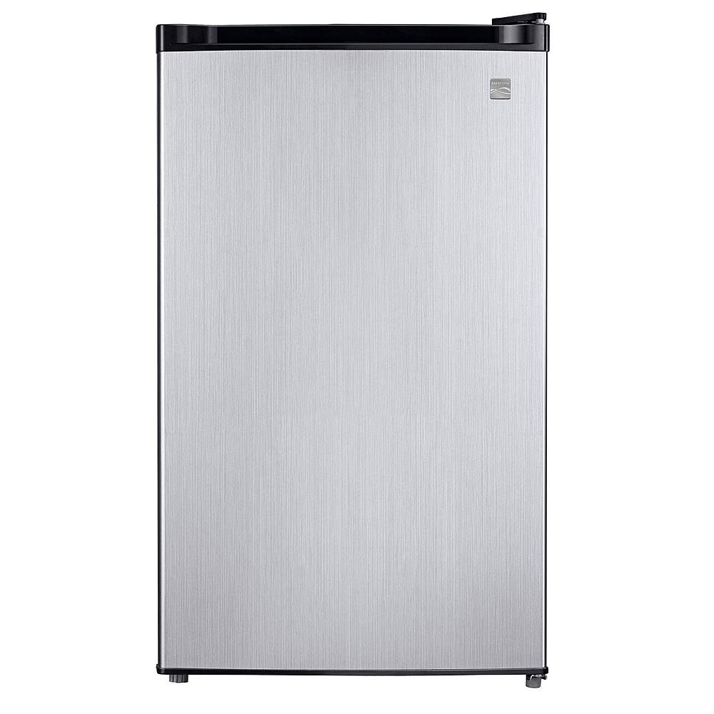 Kenmore 4.4 cu. ft. Compact Refrigerator - Stainless Steel