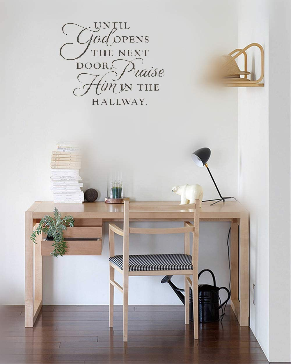 Amazon.com: Jeisy Vinyl Wall Decal Quote Stickers Home Decoration ...